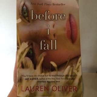 Before I Fall Novel By Lauren Oliver