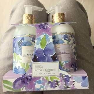 Baylis & harding gift set hand body lotion hand wash