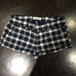 Abercrombie And Fitch Plaid Shorts