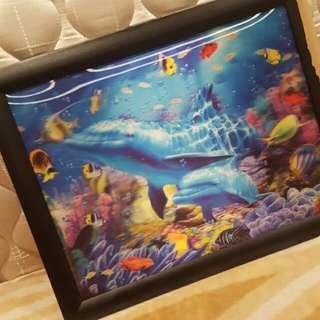 3D Aquarium Picture