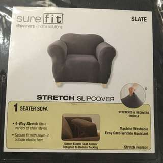 SUREFIT 1 Seater Sofa Stretch Slipcover