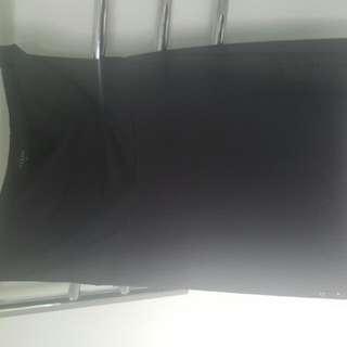 Black Dress With Belt