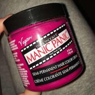 Pink Manic Panic Hair Dye