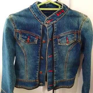 Denim Jacket size: XS