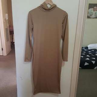 ♡ SOLD ♡ Size 12 - Turtle Neck Dress