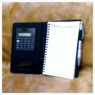 Personal Organiser w/ Calculator & Pen Slot