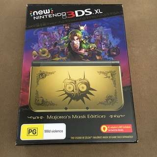 New Nintendo 3DS XL Majoras Mask Limited Edition