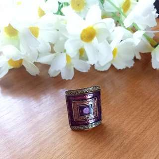 Purple Etnik Ring