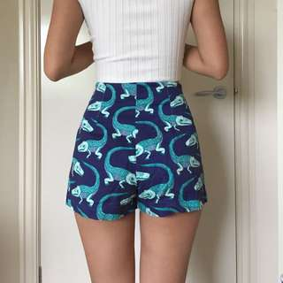 Funky Crocodile Shorts