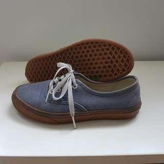 VANS LOW-CUT Navy Shoes Women Size 8