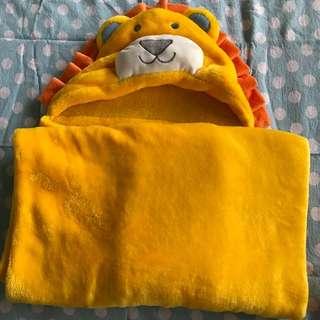 Carter's Lion Fleece Blanket