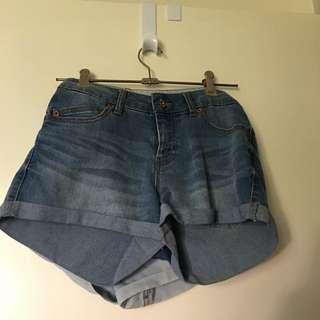 Cute Dark Blue Jay Jays Shorts