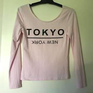 H&M Baby Pink Shirt