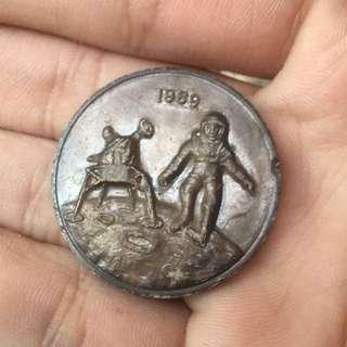 阿波羅11號硬幣