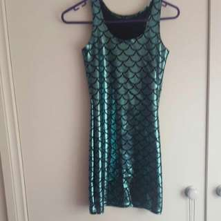 The Mermaid Dress Black Milk Clothing Size Medium