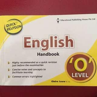 English Handbook For Quick Revision