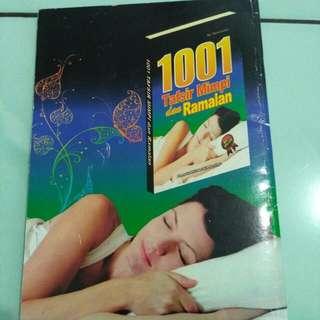 Buku 1001 Tafsir Mimpi Dan Ramalan