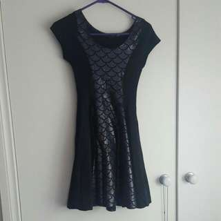 Living Dead Clothing Mermaid Princess Dress Size Extra Small XS