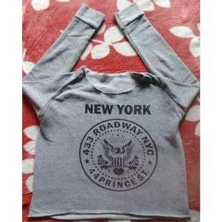 #TisGratis Sweater Crop