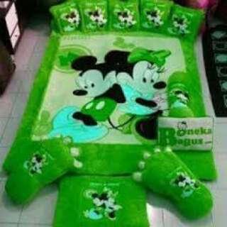 Karpet Mickey and Minnie