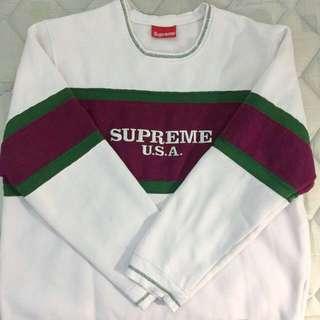 Supreme Pullover Gucci Color Scheme