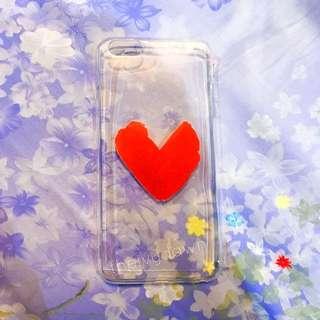 Red heart iPhone 6 Plus / 6S plus Case