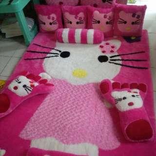 Karpet Pink Hello Kitty