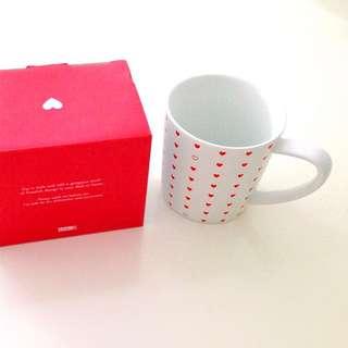 NEW Kikki K Red Heart Valentines Mug