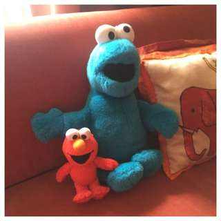 Sesame Streets's Elmo & Cookie Monster