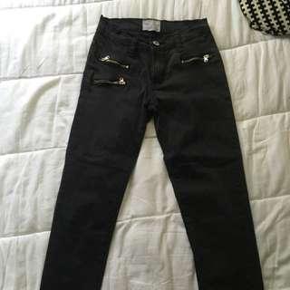 Black Jeans Size 8