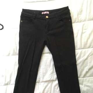 Black Pants Size XS