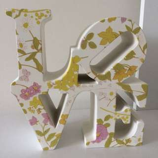 Vintage Floral Chunky Bookend