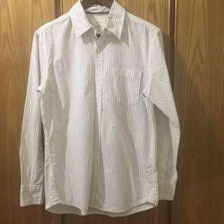 Lativ 藍白條紋襯衫