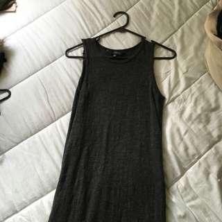 Split Tshirt Dress