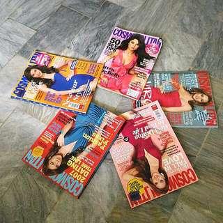 Cosmopolitan Back Issues (Take All 5)