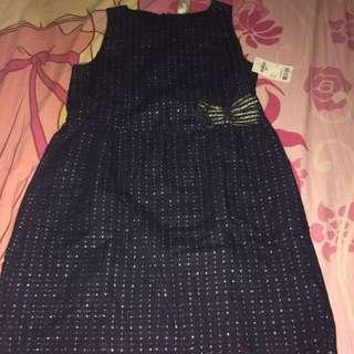 BNWT Osh Kosh Dress For Kids 6Y