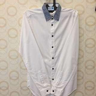 Zara Shirt Leopard Collar