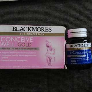 Blackmores Conceive Well Good & Conceive Men