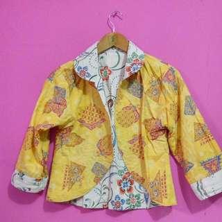 Cardigan Batik 2 In 1