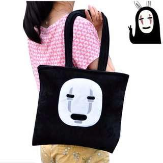🚚 宮崎駿 無臉男包包 提包 創意包包 外出包 購物袋