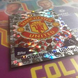 Match Attax 16/17     Manchester United Logo