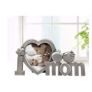 🚚 金屬相框 母親節禮物 紀念相框 創意工藝 生日禮物 母親節禮物