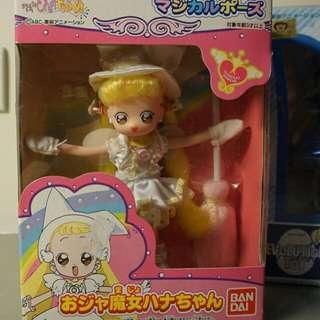 小魔女Doremi 小花 迷你娃娃 懷舊收藏