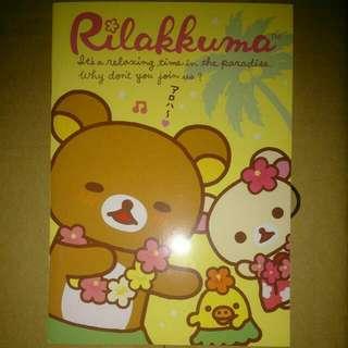 🚚 【7-11】拉拉熊B5筆記本(共四款)