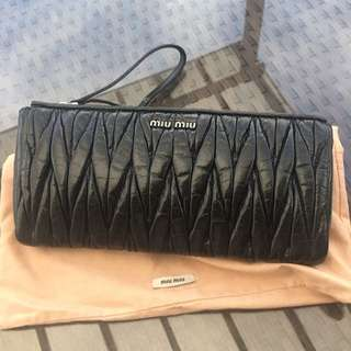miu miu bag authentic clutch  b9df2e3b729f1