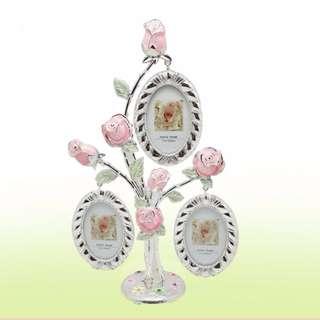 🚚 金屬相框 紀念禮物 彩色玫瑰相框 生日禮物