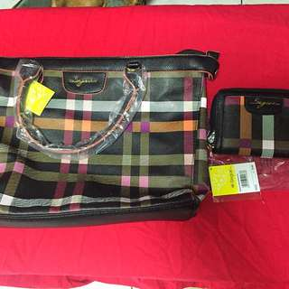 Supersale!!!  2 In 1 Seague Bag & Wallet
