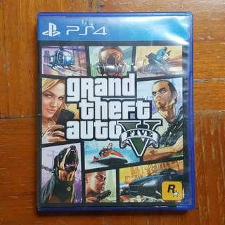 Jual BD PS4 GTA V