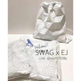 現貨✔️ Adidas Original 三宅一生 菱格 束口袋
