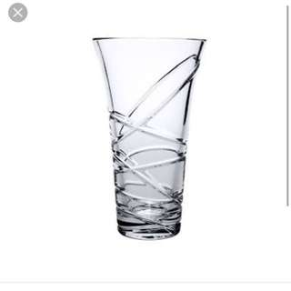 Royal Doulton Saturn Crystal Glass Vase Toorak